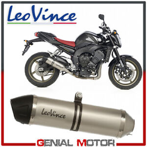 Leovince Pot D'Echappement Lv One Acier Yamaha Fz1 2006 > 2015