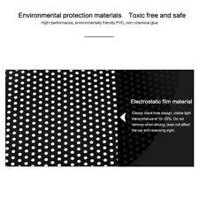 2x Auto Side Window Mesh Pellicola Parabrezza Net Paralume Adesivo Protezion UV