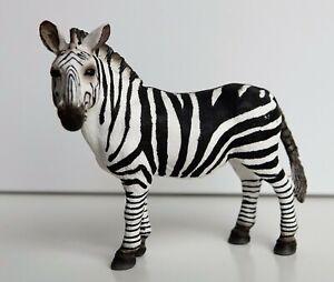 Schleich 14392 Zebra Stute Wild Life ( Pferd ) TOP Zustand wie neu