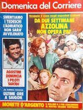 La Domenica del Corriere 15 Maggio 1975 Azzolina Battaglin Viviani Milan Rivera