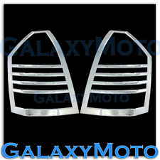 05-07 Chrysler 300 Chrome Taillight Tail Light Covers Trims Bezels Rear Trunk