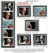 👉 MARSHALL IS. 2005 POPE JOHN PAUL II MNH RELIGION, COSTUMES