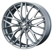 Weds LEONIS MX wheels 7.0J-18 +47 5x114.3 for HONDA CIVIC Type R Made in JAPAN