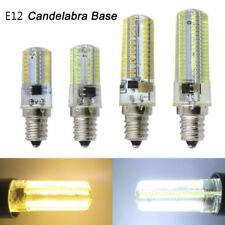 E12 Candelabra C7 64/80/152 LED 3014 SMD Bulb Lamp Ceiling fan AC 110V/220V