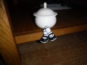 "Carlton Ware ""Walking Ware"" Crossed Legged Preserve Pot ~ Excellent ~ Rare"