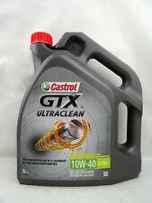 Castrol GTX Ultraclean 10W-40 10W40 Motoröl Öl A3/B4 VW 50101 50500 MB 5Liter