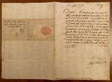 Lettera autografa di Margherita de' Medici