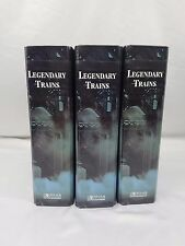 Legendary Trains Collection 3 Ring Binders 1997 Atlas Editions 16 Tabs Full Set