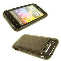 caseroxx TPU-Case for HTC Incredible S in black-clear made of TPU