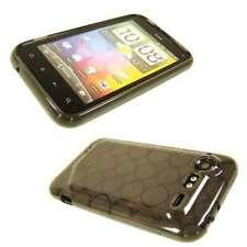 caseroxx TPU-Case for HTC Incredible S in black-clear made of TPU