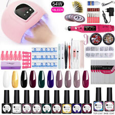 Nagel Trockner Lampe Gellack Bohren Strasssteine Kit Nail UV Gel Dryer Lamp Set