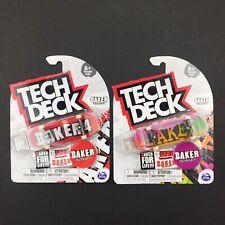 LOT of 2  ULTRA RARE Tech Deck Fingerboard - BAKER skateboards