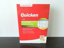 Quicken Starter 2018 2-Year Membership CD & Download Windows/Mac NIB Sealed