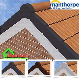 Manthorpe Dry Verge - Smart Verge System - Grey   Brown   White   Terracotta
