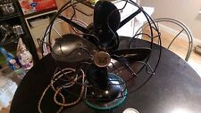 """Antique Robbins & Myers 12"""" 3 Speed Oscillating Fan"""