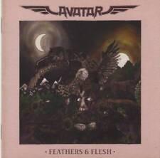 AVATAR - FEATHERS & FLESH (2016) CD Jewel Case+FREE GIFT Swedish Death Metal
