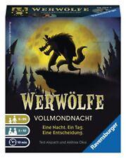 Ravensburger WERWÖLFE Vollmondnacht Rollenspiel Bluffspiel Spaß u. Action 26703