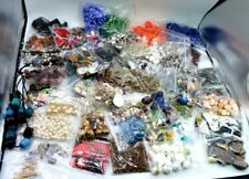 BEADS Lot loose broken jewelry harvest vintage & now mix  materials  6+ lb