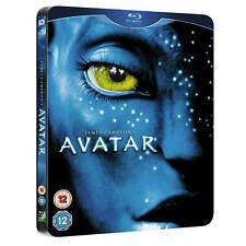 AVATAR Blu ray Steelbook NEW RARE SEALED FIRST RELEASE (Includes DVD)