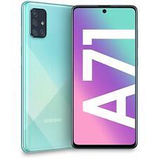 Samsung Galaxy A71 A715F 128GB Dual-SIM GSM Unlocked Phone - Prism Crush Blue