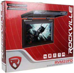 "rvm22fd 22"" flip down roof mount tft lcd monitor"