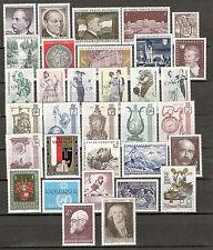 Österreich 1970 Kompletter Jahrgang Postfrisch ** MNH