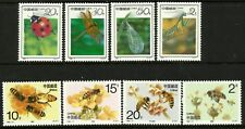 China 1992 Insects & 1993 Bees set MNH