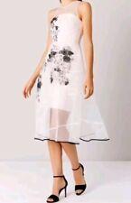 BNWT*COAST* SIZE 10 ORGANZA HALLY ARTWORK DRESS, STUNNING, WEDDING