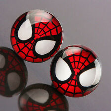 Spiderman Stud Earrings - Stainless Steel - Ladies Girls Gift, In a Gift Bag