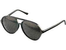 Lochbrille Rasterbrille Augentrainer Lochrasterbrille Loch-Brille Raster-Brille