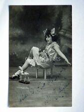 AUTOGRAFO Autograph JOLE PACIFICI attrice cinema muto silent movie foto Badodi 3