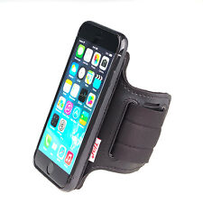 Universal Open-face Sport Arm / Wrist Band Detachable Case for iPhone 6 by TFY Black