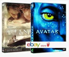 TITANIC + AVATAR (2 DVD) regia James Cameron, Sam Worthington,Leonardo Di Caprio