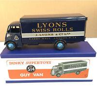SCRATCH DINKY TOYS SUPERTOYS 514 1/43 ATLAS GUY VAN LYONS SWISS ROLLS CAR MODEL