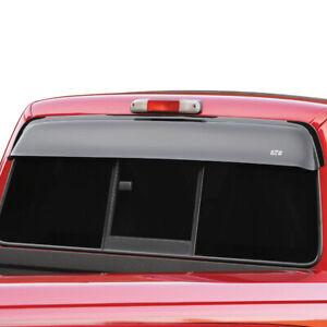 Fits 93-10 Ford Ranger GTS Shadeblade Smoke Rear Window Shade Deflector 57149