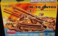 Revell Monogram Renwal M-50 Ontos tank model kit  1/32
