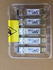 GENUINE Cisco SFP-10G-SR 10-2415-03 V03 Factory Sealed Transceiver, Tray of 5