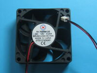 1 pcs Brushless DC Cooling Fan 12V 7025S 11 Blade 70x70x25mm 2pin Sleeve Bearing
