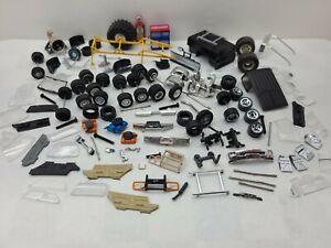 Parts lot custom builds JunkYard 1/64 TRUCK TIRES WHEELS AXELS 4X4 CAR roll bar