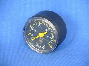 Festo 50 mm Pressure gauge, 0-16 bar / 0-250 psi