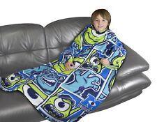 Disney Monsters Inc 'University' Sleeved Fleece Blanket Throw