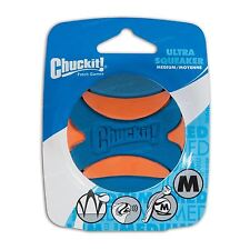 Chuckit! Ultra Squeaker Tough Ball Rubber Medium Dog Fetch Toy - Fits Launchers