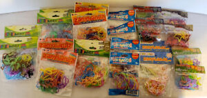 480 Rubber Bands, BANDS, SILLY, CRAZY, ZANY, Assorted Fun Silicone