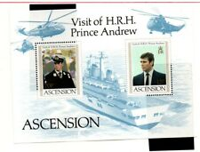 Ascension 1984 Visit by Prince Andrew mini sheet SGMS358 MNH