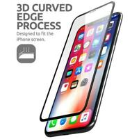 """Iphone Xs Max 6.5"""" Premium 3d Curved Edge Anti-impact Tempered W/ Guide Frame"""