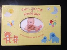 Baby's Little Box Of Keepsakes Yellow Moments To Treasure, PhotoAlbum, Baby Book