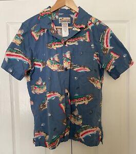 Patagonia Men's Pataloha® Shirt - Medium - Fish