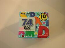 Maxell Sx Md-74 - 10 minidiscs set