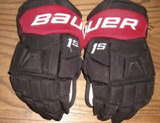 ARIZONA COYOTES Oliver Ekman-Larsson game-worn Bauer 1S gloves w/tribute to MARY