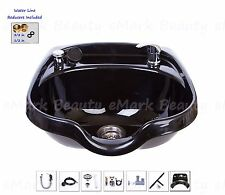 Shampoo Bowl ABS Plastic Salon Spa Hair Sink Beauty Salon Equipment. TLC-1018KRG